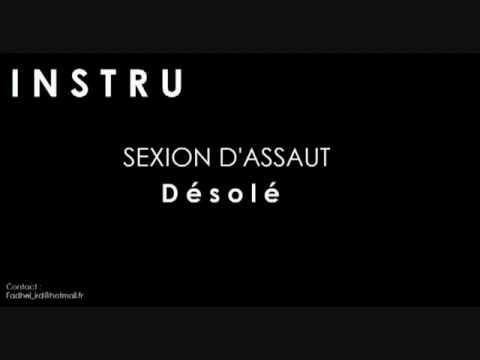 Instrumental - Sexion D'assaut - Désolé