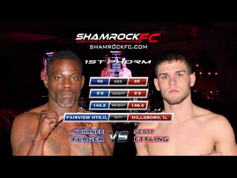 Shamrock 300 Scott Ettling vs Yohance Flager