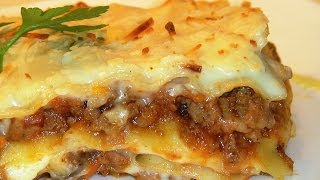 Receta Lasaña de carne con verduras - Recetas de cocina, paso a paso. Loli Domínguez