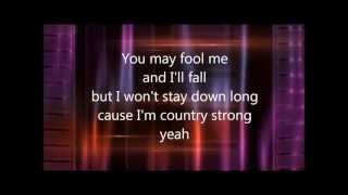 Country Strong Lyrics - Country Strong Song by Gwyneth Paltrow With Lyrics!