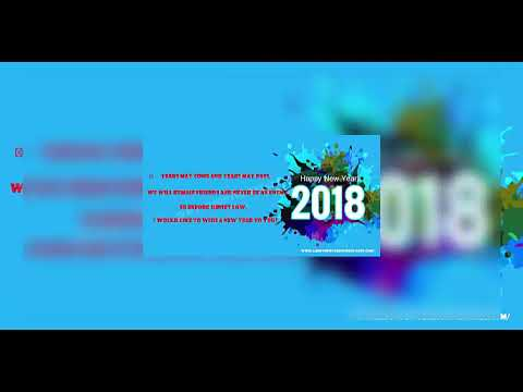 happy new year 2018 countdown - new year 2018 dubai -  new year 2018 wishes
