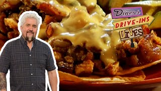 Guy Fieri Tries a Righteous Texas Chicken Hash (from #DDD) | Food Network