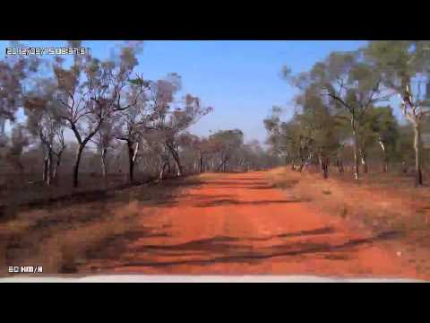 Video 191-Victoria Highway-To Gregorys National Park from Timber Creek
