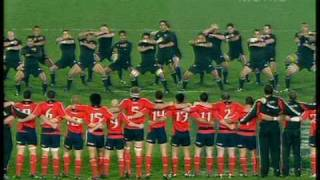 "All Blacks HAKA, Munster HAKA also TRY against NZ by Munster ""…"
