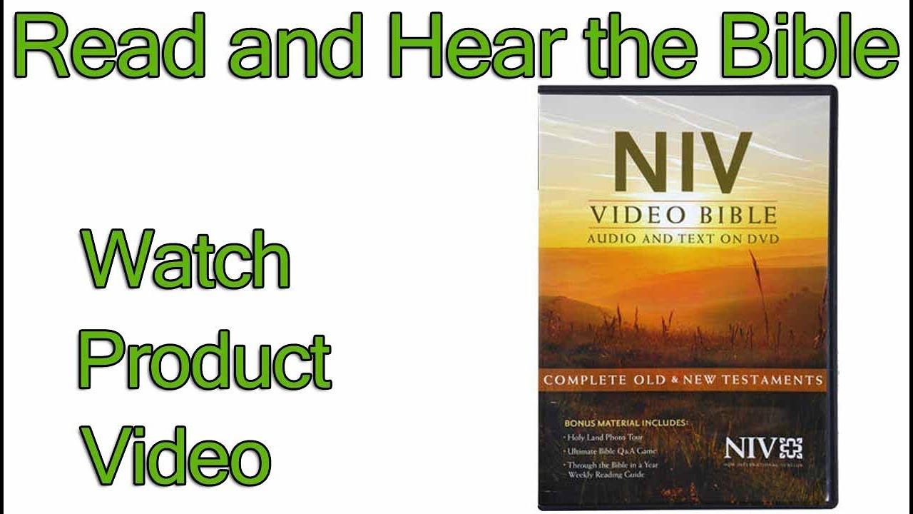 NIV Audio Bible New Testament (NIV Bible review video sample)