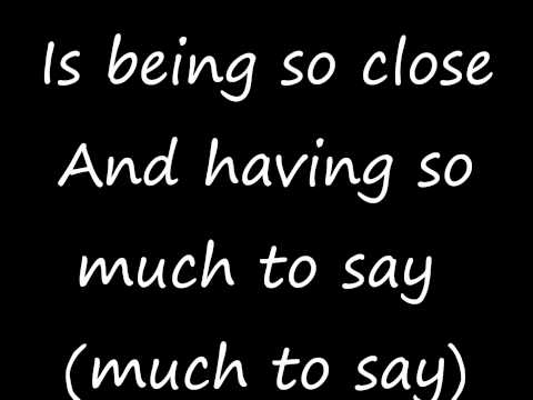 Rascal Flatts - What hurts the most Lyrics