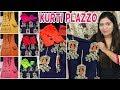 Designer Kurti Plazzo Dupatta Set ll Online Shop ll 2 Oct 2018
