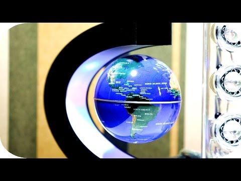 Levitating LED Globe Impressions | 4K