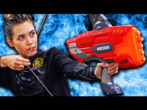 NERF Hunger Games Challenge!