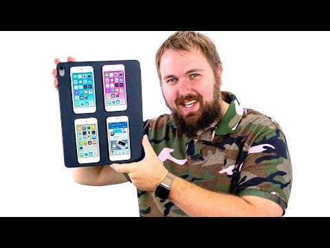 Сделал лучший самодельный iPad из iPod touch 7G и рад