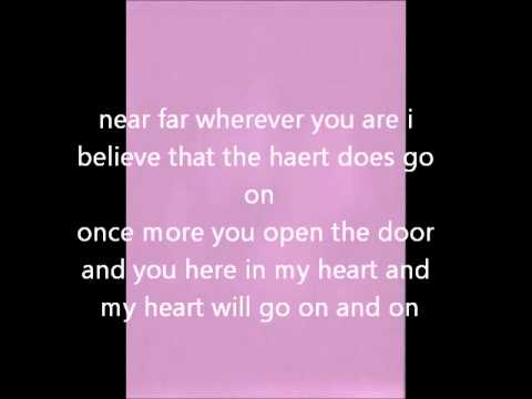 Песня My heart will go on минус - Selin Dion скачать mp3 и слушать онлайн