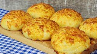 Weiche und fluffige Käsebrötchen  / Bestes Käse Brötchen Rezept