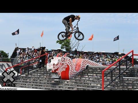 FULL BROADCAST: BMX Street Final | X Games Shanghai 2019