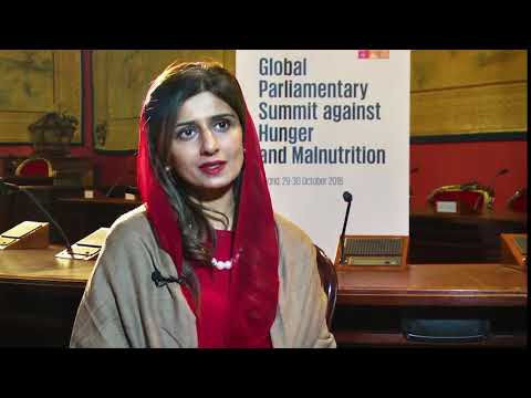 Hina Rabbani Khar, Former Minister of Finance and former Minister of Foreign Affairs of Pakistan
