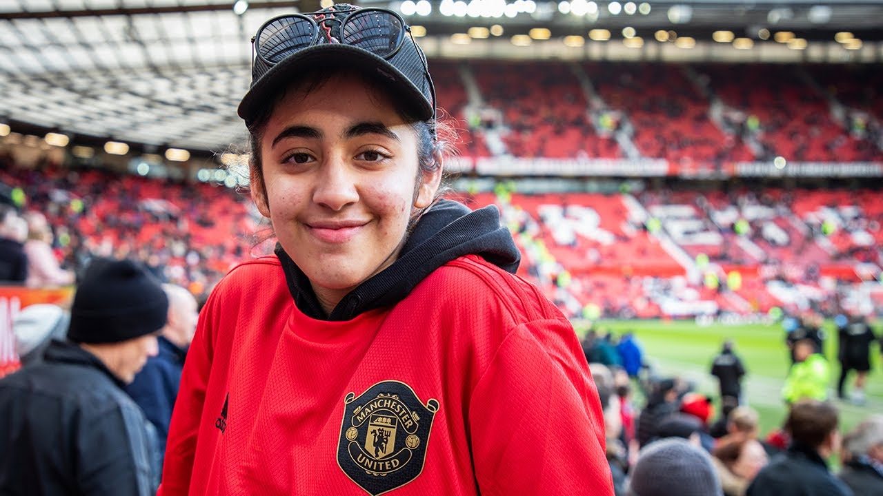 Ayman chases her dreams with help from Manchester United heroes - Solskjaer, Rashford, Pogba, De Gea