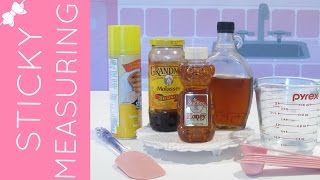 How To Measure Honey, Syrup & Other Sticky Ingredients | Baking 101 Video: Quick, Easy Tips & Tricks
