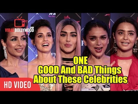 ONE GOOD And BAD Things About These Celebrities | Malaika, Disha, Surveen, Adha