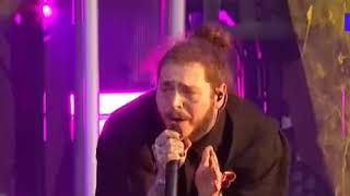 POST MALONE - PSYCHO FT. TY DOLLAR SIGN [LIVE AT WIRELESS FESTIVAL/MTV]