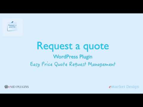Request A Quote WordPress Plugin - Easy Price Quote Request