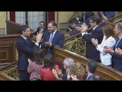 Así fue la despedida de Rajoy y la victoria de Pedro Sánchez