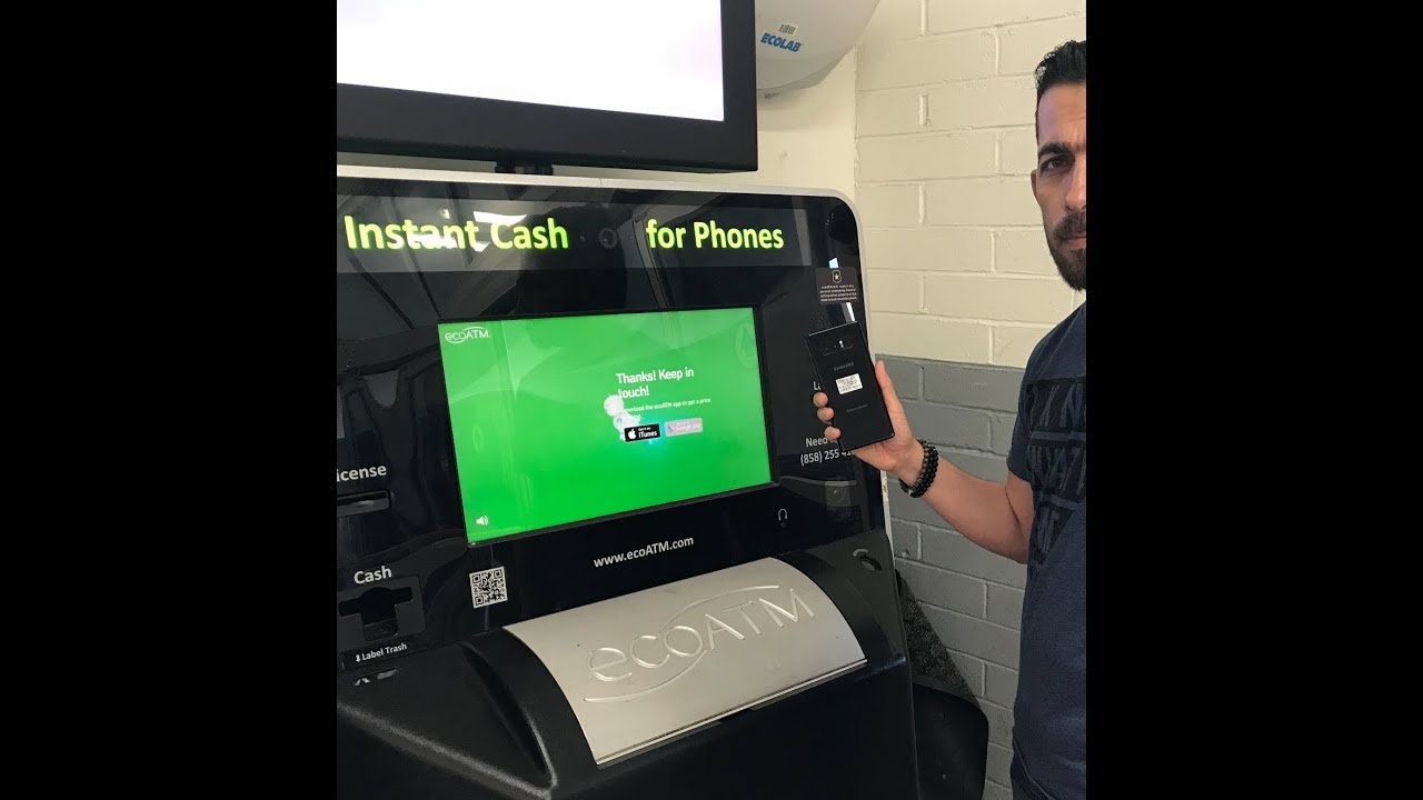 See How much the ECOATM Machine at Walmart Offer for fake note 8 and real  note 8 !!!