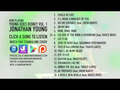 Young Does Disney 1 (Jonathan Young) - FULL ALBUM STREAM