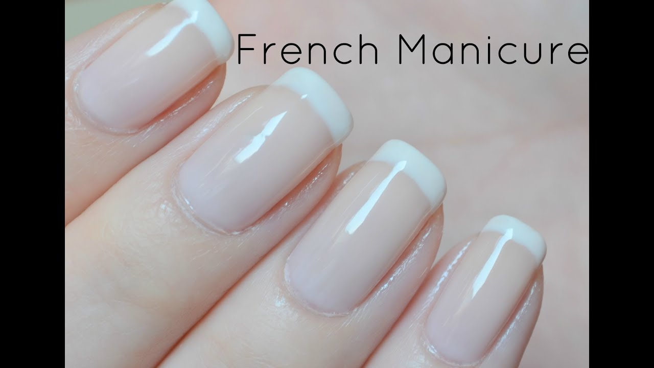 How to make perfect french manicure