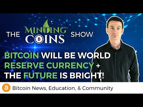 Bitcoin Will Be World Reserve Currency + The Future Is Bright!