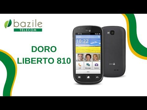 Doro liberto 810 présenté par Bazile Telecom