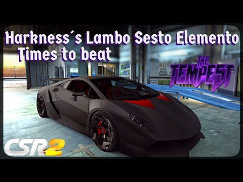 CSR Racing 2 - Tempest 3 Tier 5 - Times to beat - Harkness´s Sesto  Elemento