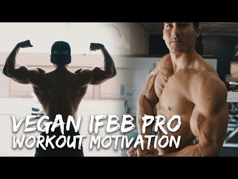 EPIC WORKOUT MOTIVATION - IFBB Pro Vegan Athlete Nimai Delgado - 3 Weeks Out