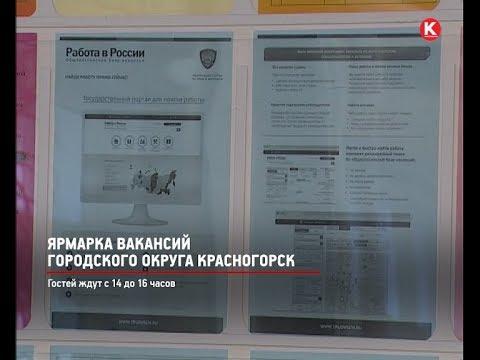 КРТВ. Ярмарка вакансий городского округа Красногорск