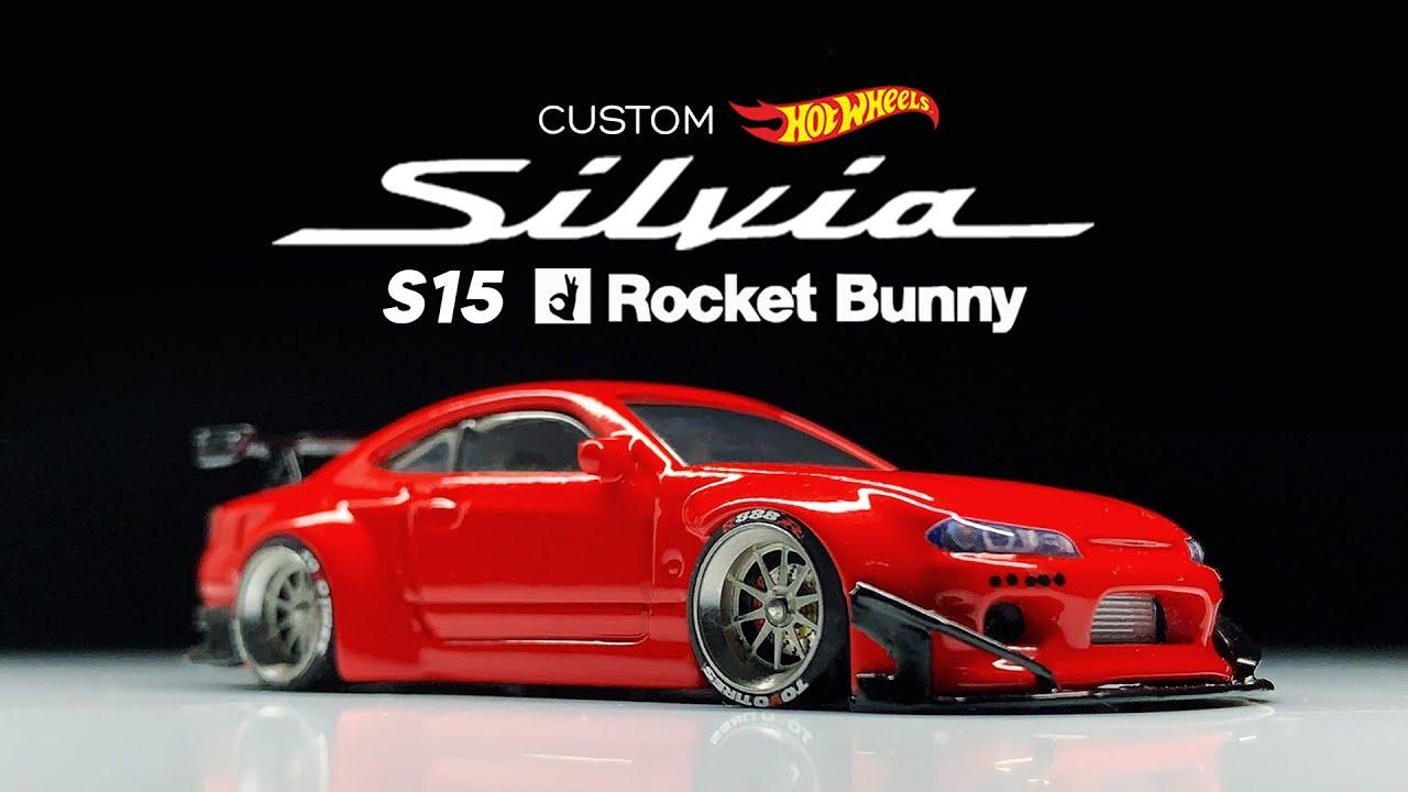 Nissan Silvia (S15) Rocket Bunny Hot Wheels Custom
