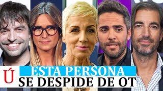ATENCIÓN   BAJA CONFIRMADA DE CARA A OT 2019: SALVO SOPRESA, EL JURADO CAMBIARÁ