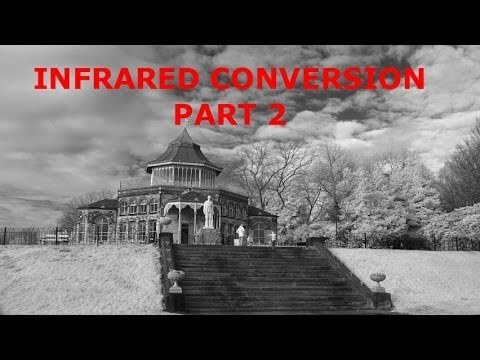 Compact Digital Camera Conversion to Infrared - part 2 the infrared pass filter