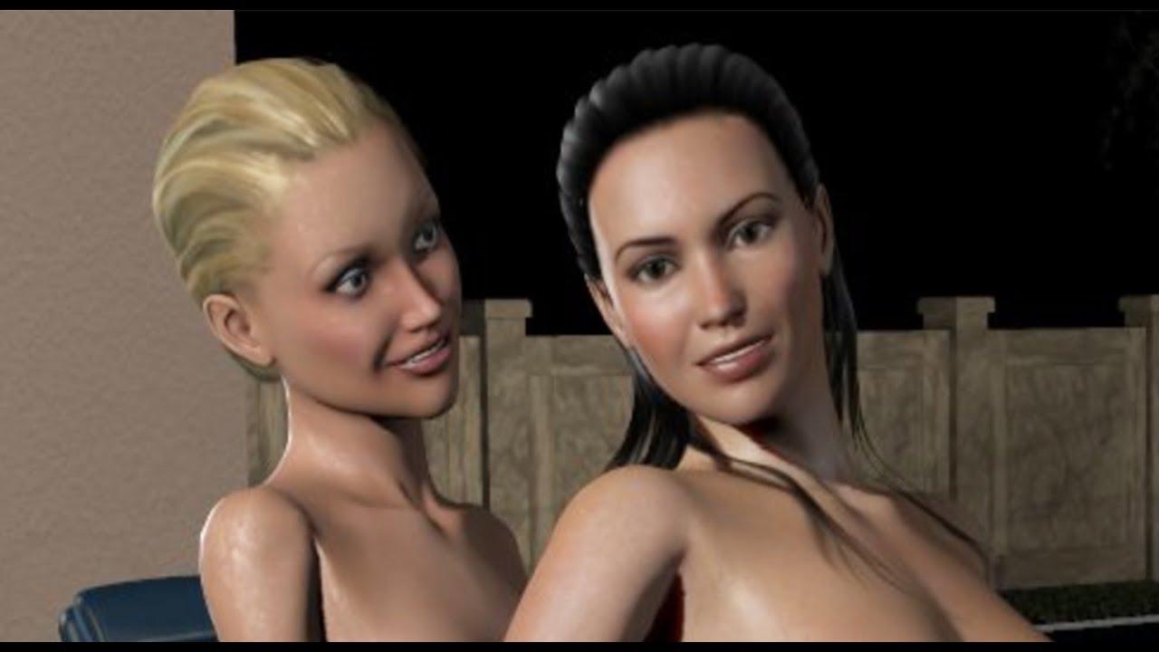 Lesbian Rebecca 56