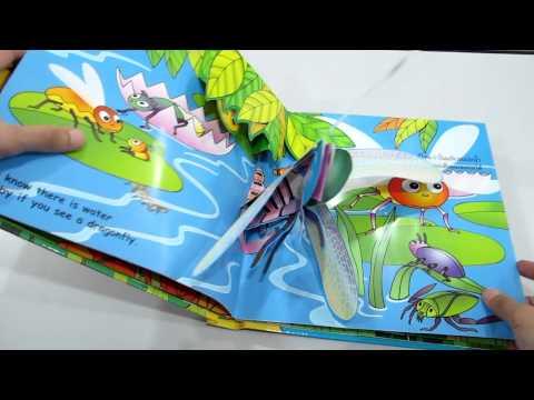 แมลง หนังสือpop-up www.KidsbookThailand.com