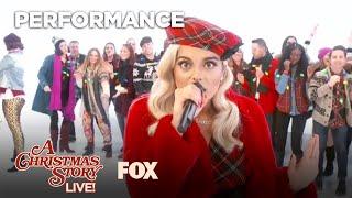 Count On Christmas Performance ft Bebe Rexha  A CHRISTMAS STORY LIVE