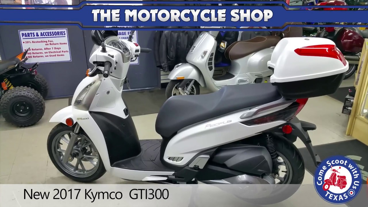 new 2017 kymco gti300 - youtube