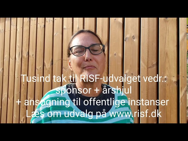 30.8.20 Succes historie i RISF udvalg