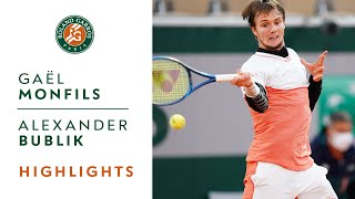 ... watch the best moments from match that opposed gaël monfils and alexander bub...