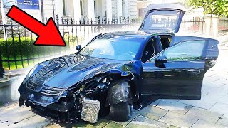 I CRASHED MY $300,000 PORSCHE...