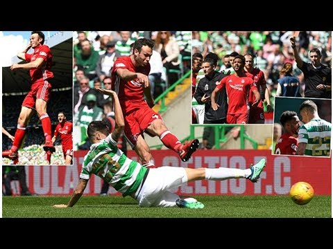 Breaking News 24H -Celtic 0-1 Aberdeen: Andrew Considine marked the second place