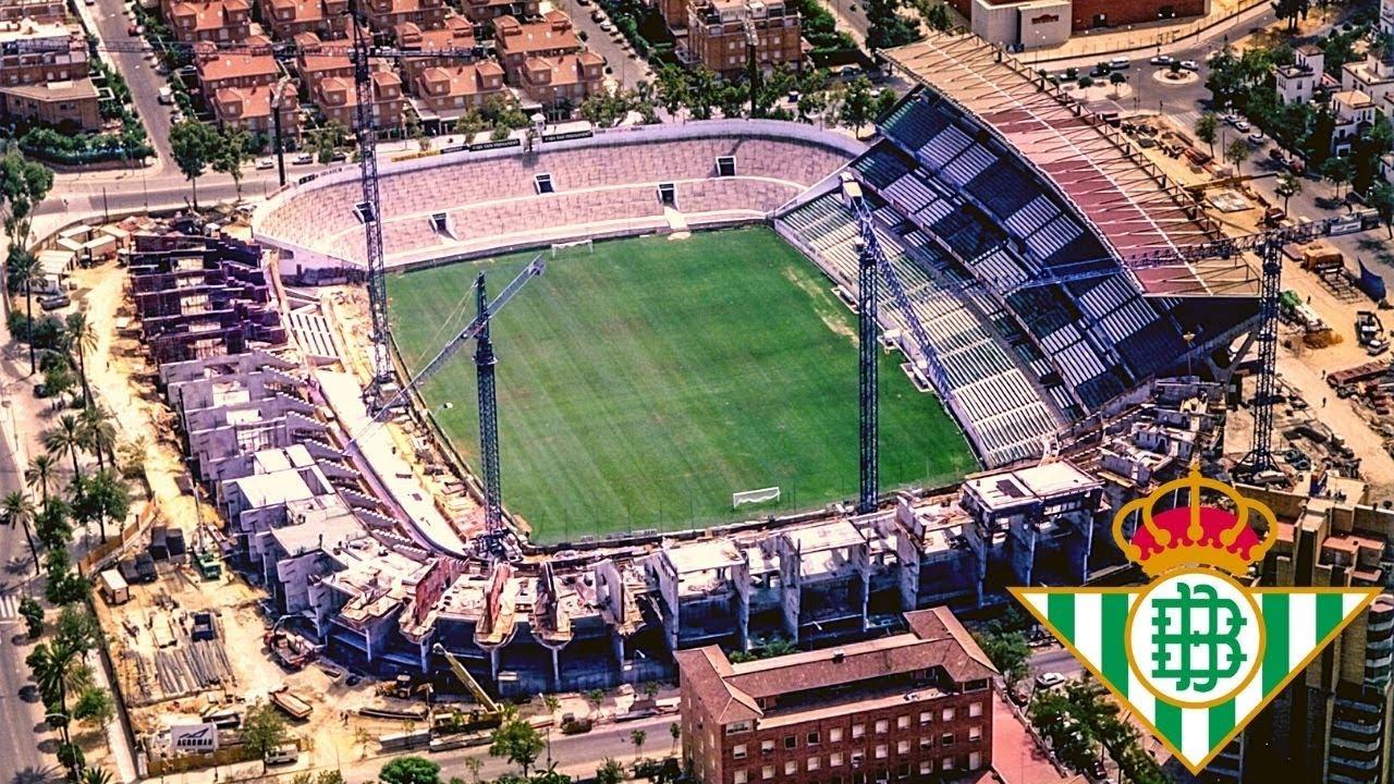 Estadio Benito Villamarín Evolution - Betis
