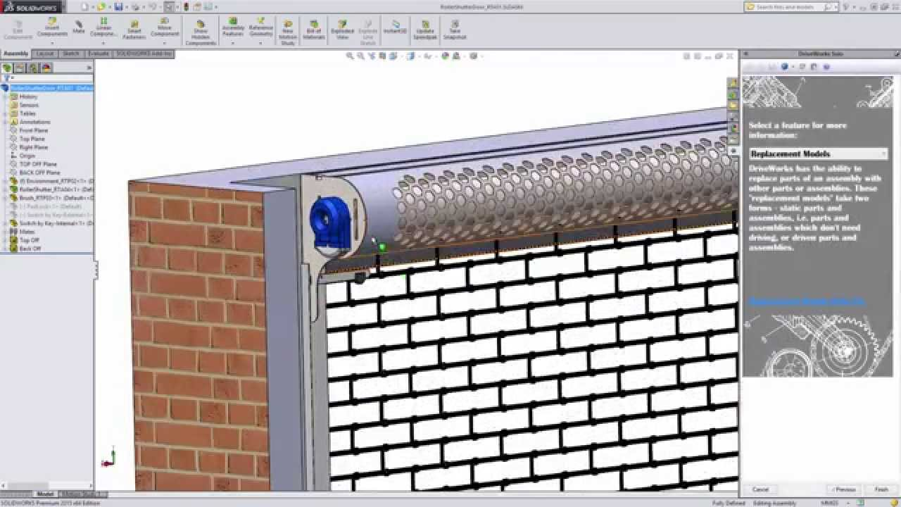 Driveworks Solo Roller Shutter Door Sample Project Youtube