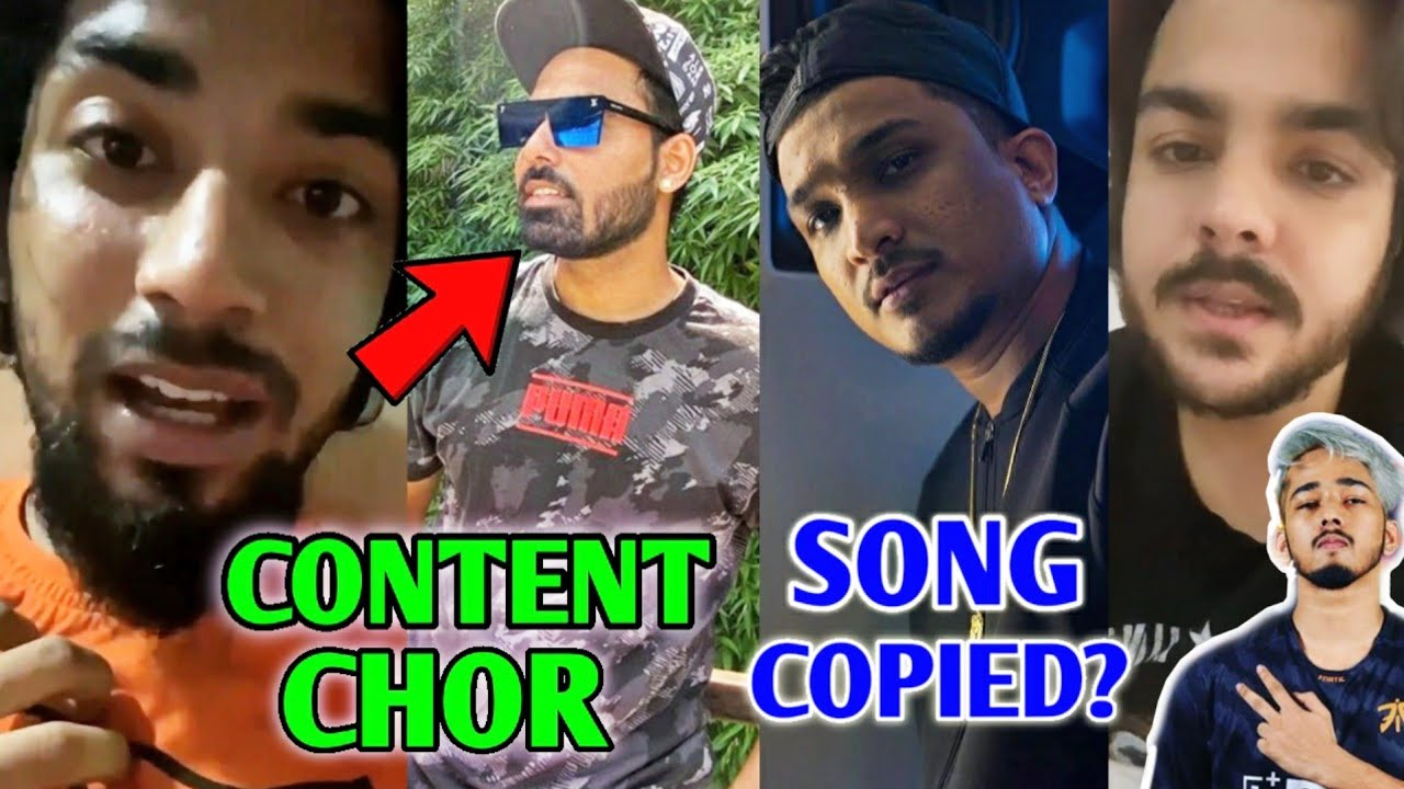 GauravZone Content CHOR EXPOSED? Divine Song COPIED? | Scout, Emiway Hack | Ashish, BB Ki Vines, KSI