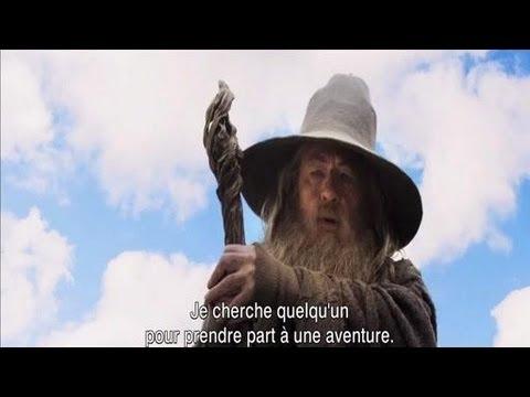 Bilbo le Hobbit Bande Annonce VF poster
