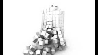 Blender 3D physics cube explode démonstration du moteur de physique du logiciel blender 3d