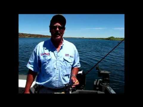 Bass Fishing At Evergreen Reservoir