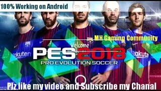 Gambar cover How To Download And Install Pes 2018 On Android